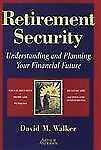 David M Walker - Retirement Security (1996) - Used - Trade Cloth (Hardcover