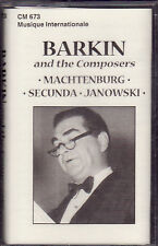 Jacob Barkin - Barkin And The Composers (Cassette, 2001, CM-673) NEW Cantor