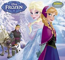 NEW 2015 Disney Frozen Full Size Wall Calendar Pictures Poster Elsa Olaf