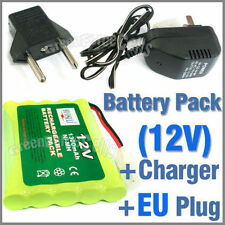 1 x 12V 1300mAh Rechargeable Battery Pack + Charger EU