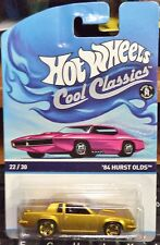 2015 Hot Wheels Cool Classics 1984 Hurst OLDS Pink Card K Case In Stock