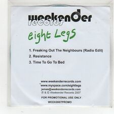 (FS798) Eight Legs, Freaking Out The Neighbours - 2007 DJ CD