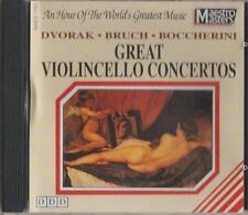 C.D.MUSIC  D355    GREAT VIOLINCELLO CONCERTOS  CD