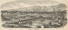 C8333 Laodicea - General view - Stampa antica - 1892 Engraving