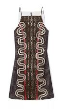 NWT $1,295 TORY BURCH Runway Broderie Anglaise Eyelet Embroidered Dress - Size 6