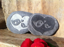 Hand carved Baby bird stone, perfect gift for Godparents, Godmother, Godfather