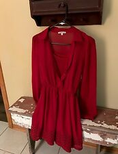 Charlotte Russe Women's Size Small Red Dress
