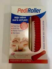 Carnation Foot Pedi Roller - Heel & Arch Pain Relief Massage Soother Feet Care