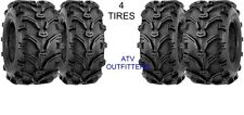 "2002-2014 POLARIS SPORTSMAN 500  25"" BEAR CLAW ATV TIRES FULL COMPLETE SET OF 4"