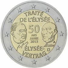 """2 € Deutschland 2013 """" Elysee-Vertrag """" STG  - D- München"""