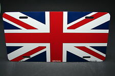 BRITAIN FLAG METAL NOVELTY LICENSE PLATE TAG FOR CARS AND TRUCKS  UNION JACK