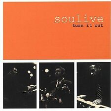 SOULIVE - Turn It Out (CD, 2002, Velour Recordings (USA)) MINT, EXCELLENT, RARE