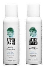 After Inked Piercing Spray Healing Body Mouth Piercings Aftercare Numbing 2 PACK
