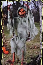 5 FT SWINGING DEAD SKELETON PUMPKIN ZOMBIE HALLOWEEN DECORATION PORCH OUTDOOR