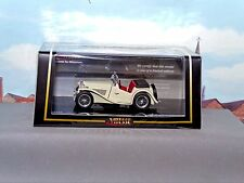 VITESSE DIECAST1:43 - REF.NO. V29112 MGTC OPEN TOURER OFF WHITE
