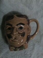 VINTAGE GENTLEMEN ~ DAD ~ FACE  MUSTACHE MUG. JAPAN