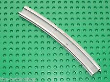 Rail courbe LEGO TRAIN 12v 12 v Train Track Curved Insert 3241 / Set 7740 7745..
