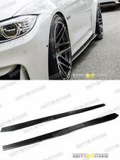 15+ CARBON FIBER BMW F82 M4 MODEL USE  DTM DESIGN SIDE SKIRT EXTENSION