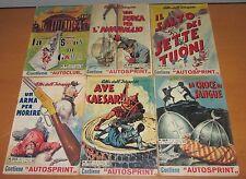 Lotto 6 numeri Albi dell'Intrepido  n. 903 / 925 - Anno 1963