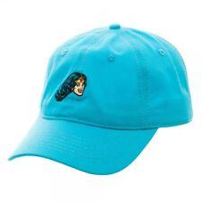 DC COMICS WONDER WOMAN DAD HAT TEAL BLUE SLOUCH CAP CURVED BILL ADJUSTABLE RETRO