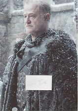 OWEN TEALE Signed 12x8 Photo Display ALLISER THORNE In GAME OF THRONES COA