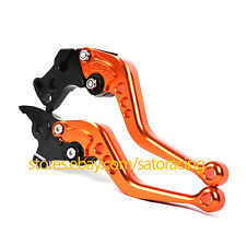 Orange Color CNC Short Adjust Brake Clutch Levers Set For KTM 690 Enduro R 2014