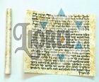 """Non Kosher Jewish MEZUZAH 2.4""""/6cm Rolled Wrapped Scroll Klaf Parchment Blessing"""