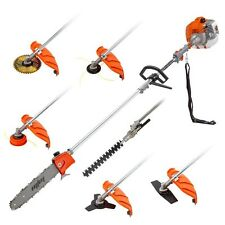 MTM 62cc Pole Chainsaw Multi Tool Brush Cutter Brushcutter Hedge Trimmer Saw