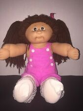 """1984 Cabbage Patch Kids PMI Factory 16"""" Girl Doll Brunette HM4 LAST CHANCE 2 BUY"""