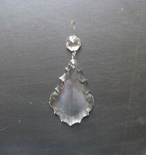 Goccia Di Vetro/Cristallo Per Ricambi Lampadari o Restauro-Decorazioni Disp. 4Pz