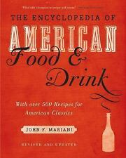 Encyclopedia of American Food and Drink-ExLibrary