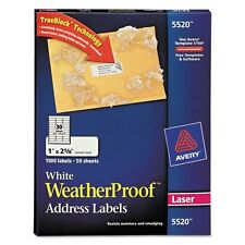 Avery Weatherproof Address Labels - 5520