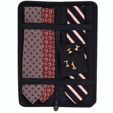 Household Essentials 06704 Travel Accessories Black Tie Case Holds Up To 6