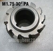 Lot 1pcs HSS Involute Gear Hob M1.75 Bore 22mm 30 Degree PA Class A Gear Cutter