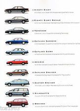 HUGE 1992 OLDSMOBILE Brochure/Catalog: TORONADO,98,CUTLASS,88.BRAVADA,