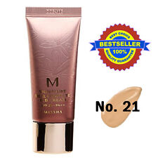 Missha BB Crema NO.21 SIGNATURE REAL Foundation Makeup Light Beige / BB Cream