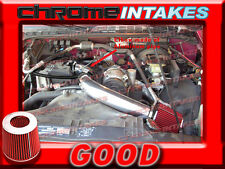 """BLACK RED 98-03 CHEVY S10 S-10 ZR2/XTREME/HOMBRE/SONOMA 2.2L COLD AIR INTAKE 3"""""""