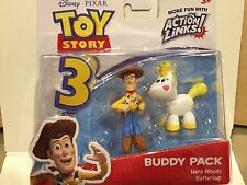 DISNEY TOY STORY BUDDY PACK HERO SHERIFF WOODY & BUTTERCUP RETIRED HARD TO FIND