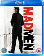 Mad Men -4th Season Blu-Ray Dvd Brand New & Factory Sealed
