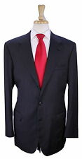 * BRIONI * Recent Solid Charcoal Gray 2-Btn Luxury Wool Suit 40L