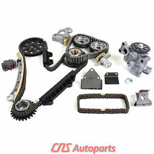 99-06 Suzuki Vitara Chevy 2.5L 2.7L Engine Timing Chain Kit + Oil Pump H25A H27A