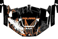 GRAPHICS KIT 2013-14 POLARIS RANGER RZR 1000 WRAPS WRAP DECALS Factory 4 Door