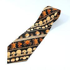 Custom ACME Tie 100% Silk for Shedd Aquarium NEW