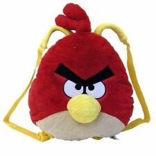 """Backpack Angry Birds Plush Red Bird 15"""" x 13.5"""" x 4"""" NWT"""