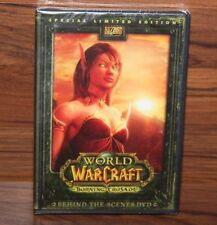 "WORLD OF WARCRAFT ""Burning Crusade"" Behind-the-Scenes DVD Limited Edition *NEW*"