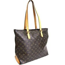 C572 Auth LOUIS VUITTON Monogram Cabas Mezzo M51151 Tote Shoulder Bag VI0026