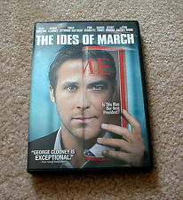 """""""The Ides of March"""" Movie starring Ryan Gosling and George Clooney on DVD"""