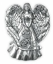 """Nature's Grace LOVE Angel Pin Brooch, 1"""" Tall, Roses, by AngelStar 15935"""