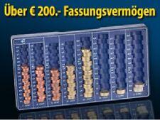Münzbrett Rähmchen Münzsortierer Münzenbrett mit 8 Schächten Geldbrett Sortierer