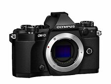 New Olympus OM-D E-M5 Mark II BLACK Micro Four Thirds Camera Body - Mirrorless